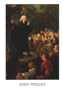 J-Wesley-preaching-under-tree-postcard-1