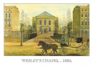 Wesleys-Chapel-1820s-postcard-1